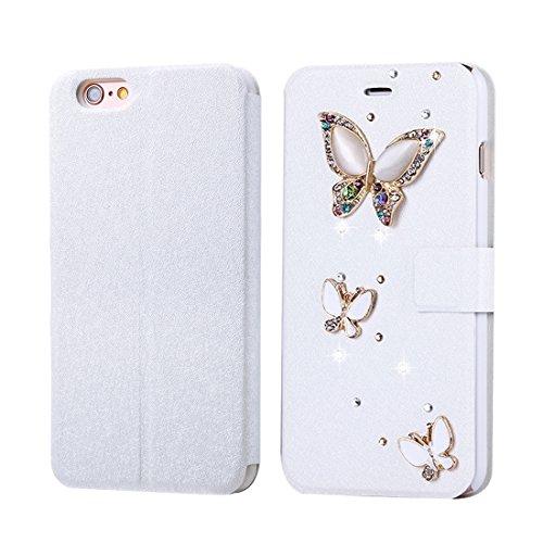 Phone case & Hülle Für IPhone 6 Plus / 6s Plus, Diamant verkrustete Sonnenblume Perle Bell Pattern Horizontale Flip Leder Tasche mit magnetischen Wölbung & Card Slots ( SKU : IP6P1122E ) IP6P1122C