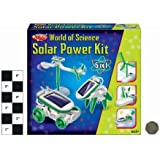 Worl of Science 6 in 1 Solar power build it kit