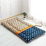 Nclon Verdicken Sie Halten Sie Warm Tatami-matten,Zusammenklappbar Matratze Für Doppelzimmer Person-Sterne 180x200cm(71x79inch)