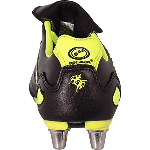 Optimum Razor, Scarpe da Rugby Uomo Giallo (Fluro Yellow)