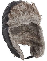 Bonnet thermique style trappeur, avec fausse fourrure - Homme