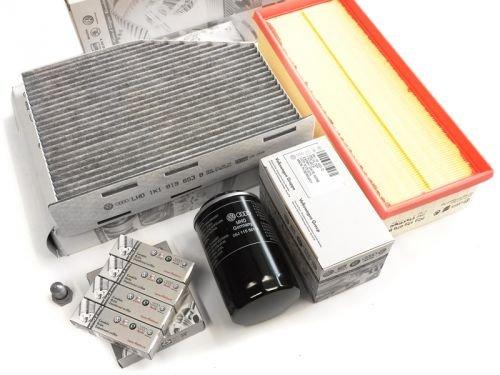 VW Original Inspektionspaket VW Golf 6 GTI 2.0 TSI TFSI Motorcode: CCZB NEU 8-teilig