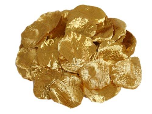 de Rosenblätter Hochzeit Dekorationen Bulk Liefert-Gold (Bulk-rosenblätter)