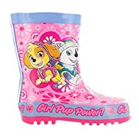 Girls Paw Patrol Wellies Wellington Boots Snow Boots (Girls UK 5, Pink/Lilac)