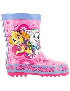 Paw Patrol. - Botas de Caucho para niña