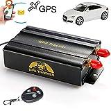 Traceur gps localisation voiture TKSTAR GPS Tracker pour vehicule avec GPRS et Système de Protection (en cas de vol du véhicule)