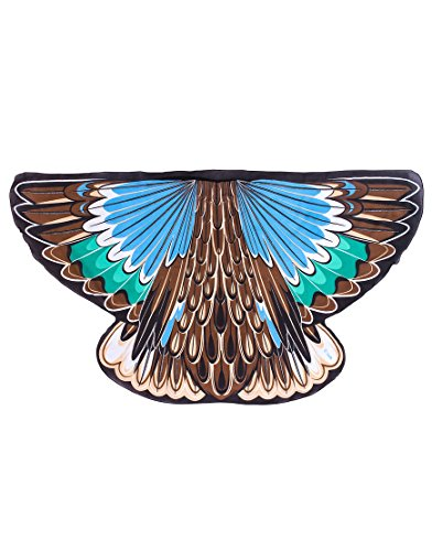 Dreamy Dress-Ups 65004 Wings, Flügel, Blue-Winged Teal Duck, Vogel Blauflügelente Anas - Vögel Flügel Kostüm