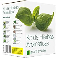 Plant Theatre Kit de Hierbas Aromáticas - 6 hierbas diferentes para crecer