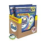 Dash PODS 3 in 1 Salva Colore Pods per Bucato 66 Lavaggi, Pulito, Anti-Macchia, Brillantezza
