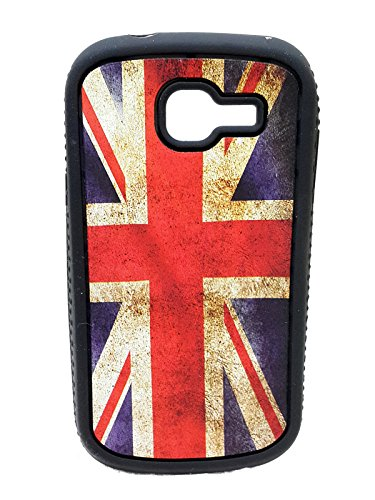 iCandy™ Rubber Printed matt soft Back Cover For Samsung Galaxy Star Pro S7262 - UK  available at amazon for Rs.109