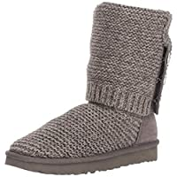 UGG PEARL CARDY KNIT Boots 2019 charcoal