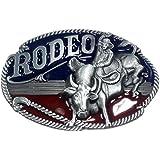 Marcas Rodeo, vaquero, Western - hebilla de cinturón de coloures
