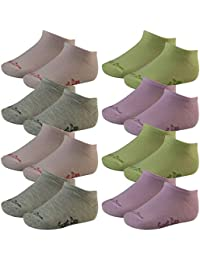 8 Paar Kinder Sneaker Socken Freizeit Socken in Pastelltönen