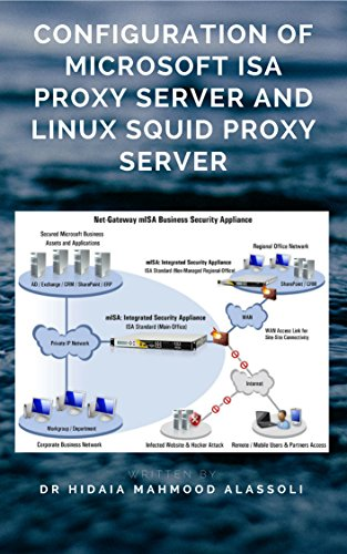 Configuration of Microsoft ISA Proxy Server and Linux Squid Proxy Server (English Edition)