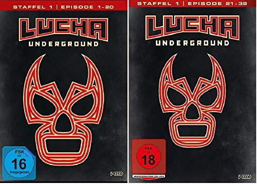 Lucha Underground 1.1+1.2 Episode 1-39 [DVD Set]