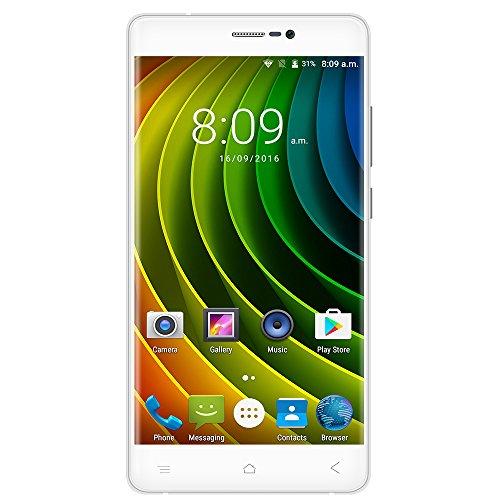 Creev Mark V Plus 4G LTE Smartphone 5.5 pollici IPS LCD Schermo HD 1280x720 Quad Core 1,3GHz MTK6737 2GB di RAM 16GB di ROM Fotocamera da 8MP 13 MP 3000mAh Bluetooth GPS FM Android 6 Sim doppio sbloccato il telefono mobile Sim Free (oro rosa)