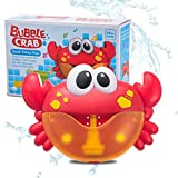 Best Bubbles Pour les tout-petits - Junlinto Crabe Bubble Machine Salle De Bains Bubble Review