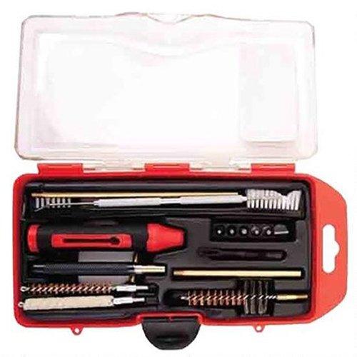 WINCHESTER Kit de nettoyage complet (17 éléments) pour carabine calibre .308 Winchester et 7.62x51 NATO, avec brosse pour chambre 6 embouts de tournevis