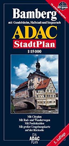 ADAC Stadtpläne, Bamberg mit Gundelsheim und Hallstadt