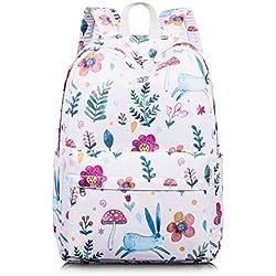 Leaper–Preescolar libro bolsa Niñas portátil mochila para niños mochila mochila Pink[8020-1] Medium