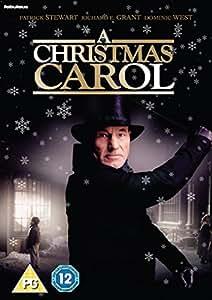 A Christmas Carol DVD: Amazon.co.uk: Patrick Stewart, Richard E. Grant, Dominic West, Liz ...