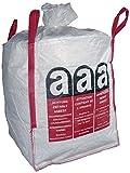 (7,83EUR/St.) 1x Big Bag 90x90x110 Warndruck ASBEST Schürze geschlossener Boden SWL 1000Kg