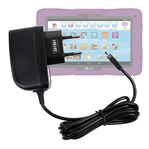 DURAGADGET Cargador de 2 Amperios para Cefatronic Clan Tablet Edición Motion - Conexión Micro USB - Enchufe Europeo De Pared