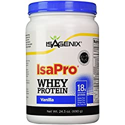 Isagenix Isapro Supplemental Whey Protein with Vanilla Flavoring - 1 Canister(24.3oz)