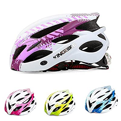 nicololfle Bike Helmet Light Weight Breathable Men Cycle Helmet Outdoor Safety Helmets For Women Youth Adult Adjustable MTB Road Bike Helmet by nicololfle