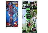#8: Samtroh Combo of Spiderman & Ben 10 Projector Wristband - 24 Images(Multicolor)
