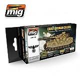 AMMO MIG JIMENEZ EARLY / MIDDLE GERMAN COLORS A.MIG 7100 by Ammo of Mig Jimenez