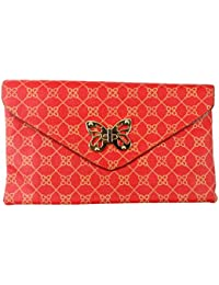 Surbhi Red Butterfly Sling Bags For Women Sling Bags For Girls Bags Crossbody Sling Bag Messenger Sling Bag Mobile...