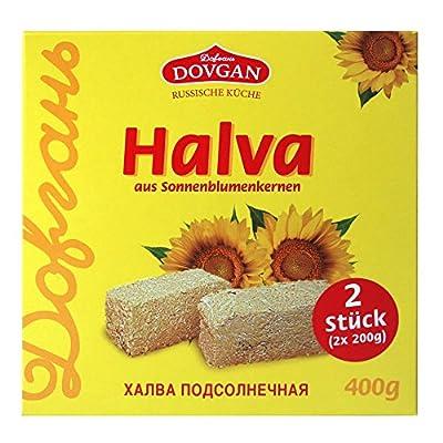 """Dovgan Zubereitung aus Sonnenblumenkernen """"Halwa"""", 8er Pack (8 x 400 g)"""