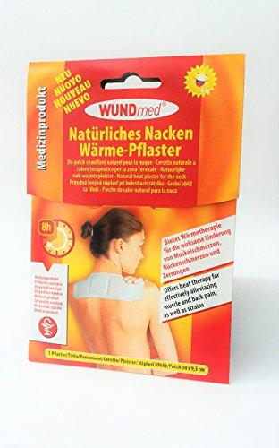 5 Stück Jumbo XL Wärmepflaster für Nacken und Schulter - langanhaltende Wärme bis zu 8 Stunden, schmerzlindernd, hypoallergen - Maße: 30 x 9,5 cm