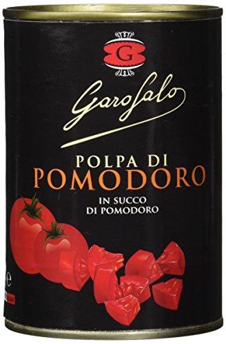 Garofalo Gehackte Tomaten in Tomatensaft, 8er Pack (8 x 400 g)