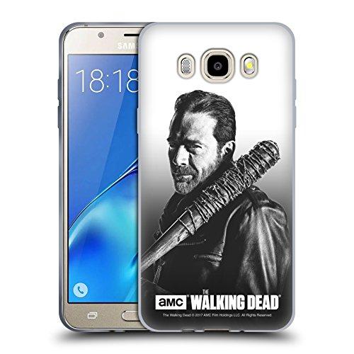 Officiel AMC The Walking Dead Negan Portraits Filtrés Étui Coque en Gel molle pour Samsung Galaxy J5 (2016)