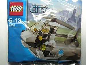 LEGO City: Police Hélicoptère Jeu De Construction 4991 (Dans Un Sac)