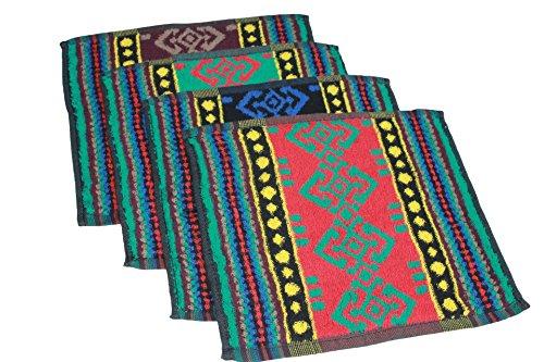 Price comparison product image YSN Home Collection YSN29 – Towel 100% Cotton – 25 x 25 cm,  blue,  25 x 25 cm
