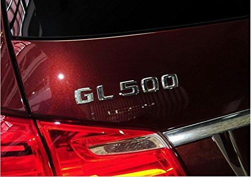 Preisvergleich Produktbild E810 GL 500 Emblem Badge auto aufkleber Schriftzug car Sticker Chrom G 50 500