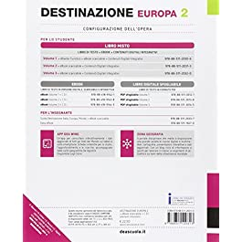 Destinazione Italia, Europa e mondo. Destinazione Europa. Per le Scuole superiori. Con e-book. Con espansione online: 2