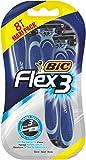 BIC Flex 3 ComfortRasoir pour homme- Lot de 8