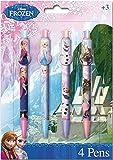 Disney Frozen Pens 4 Pack Brand New Frozen Biro Pens 4 Pk Brand New Sealed