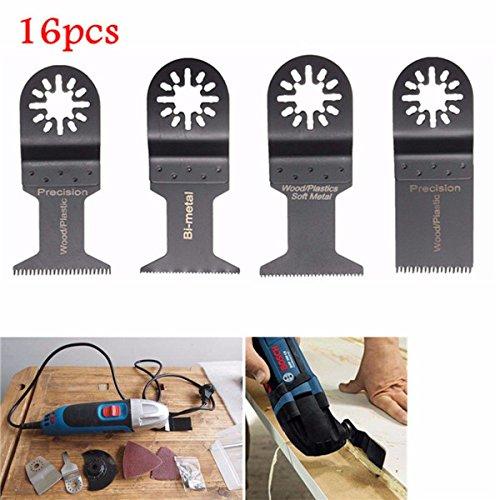 RanDal 16Pcs Oscillating Multitool Sageblätter Für Fein Multimaster Makita Bosch