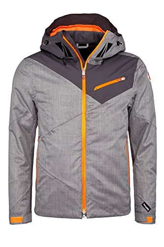 Spyder Herren 151510-036 Skijacke Axel Jacket Graystone Crosshatch/Polar