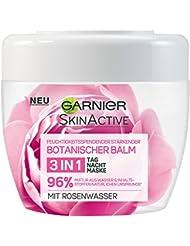 Garnier SkinActive Botanischer Balm 3in1 Tag+Nacht+Maske mit Rosenwasser, 2er Pack (2 x 140 ml)