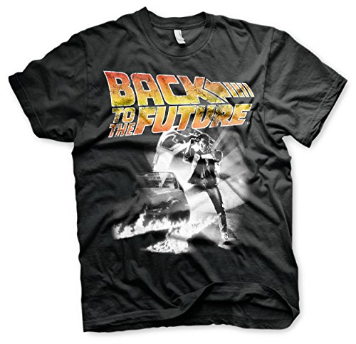 Officially Licensed Back To The Future Poster T-shirt