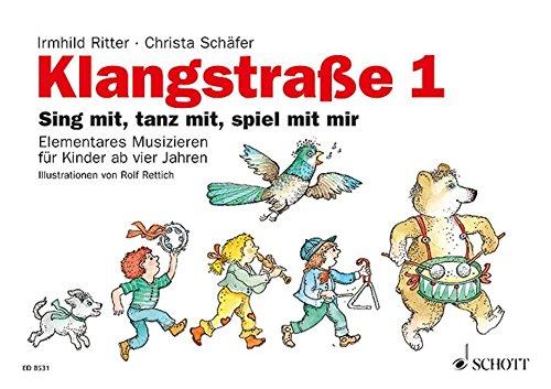 Klangstraße 1 – Kinderheft: mit Elterninformationen, Anwesenheitsheft und Arbeitsblättern. Kinderheft.