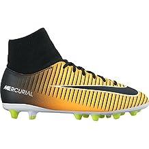 Nike MERCURIAL VICTORY 6 Calcetin Niño Naranja Bota Futbol AG-PRO - 38,5