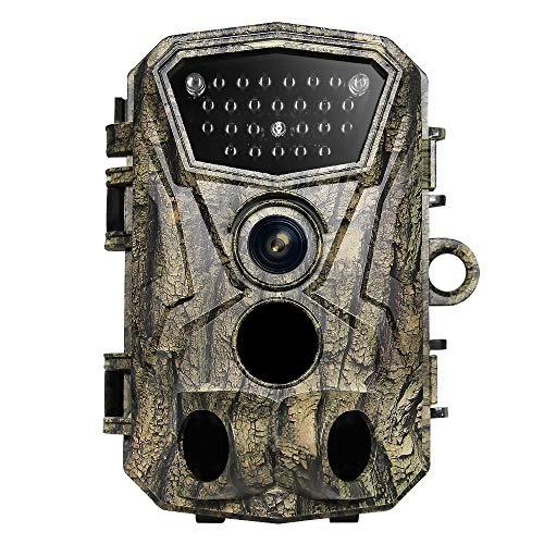 ZYG.GG Wildlife-Kamera, 1080P 16MP Hinteres Spielkamera, Nachtsicht Bewegung aktiviert IP56...
