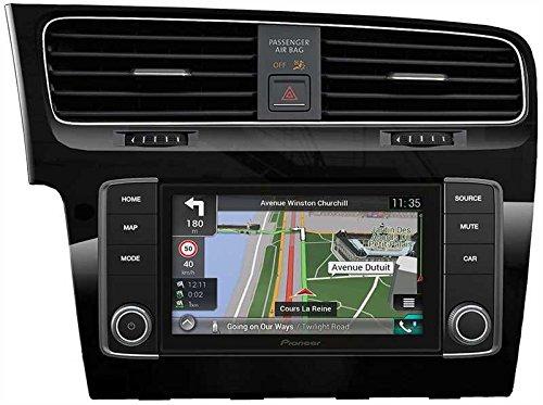 Pioneer Navgate Evo Navigationssystem für VW Golf VII, zur Festinstallation, Display 17,8 cm (7 Zoll)Touchscreen, Schwarz